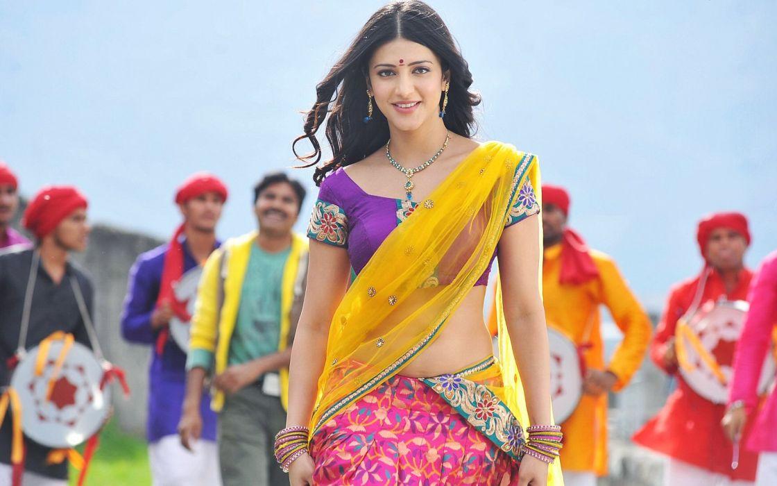 SHRUTI HASSAN indian actress bollywood singer model babe (9) wallpaper