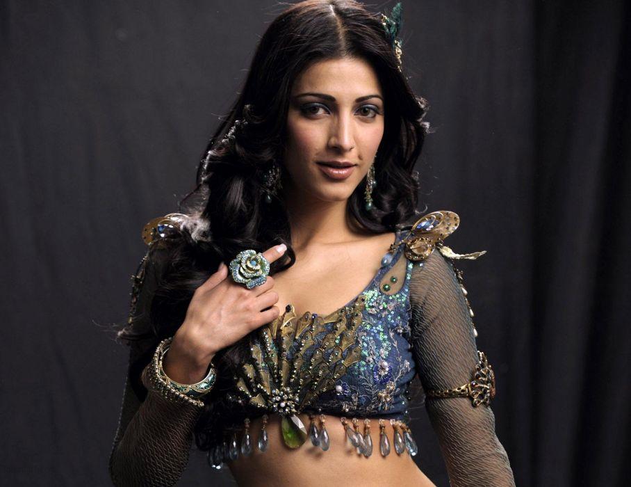 SHRUTI HASSAN indian actress bollywood singer model babe (5) wallpaper