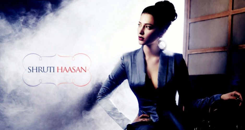 SHRUTI HASSAN indian actress bollywood singer model babe (18) wallpaper