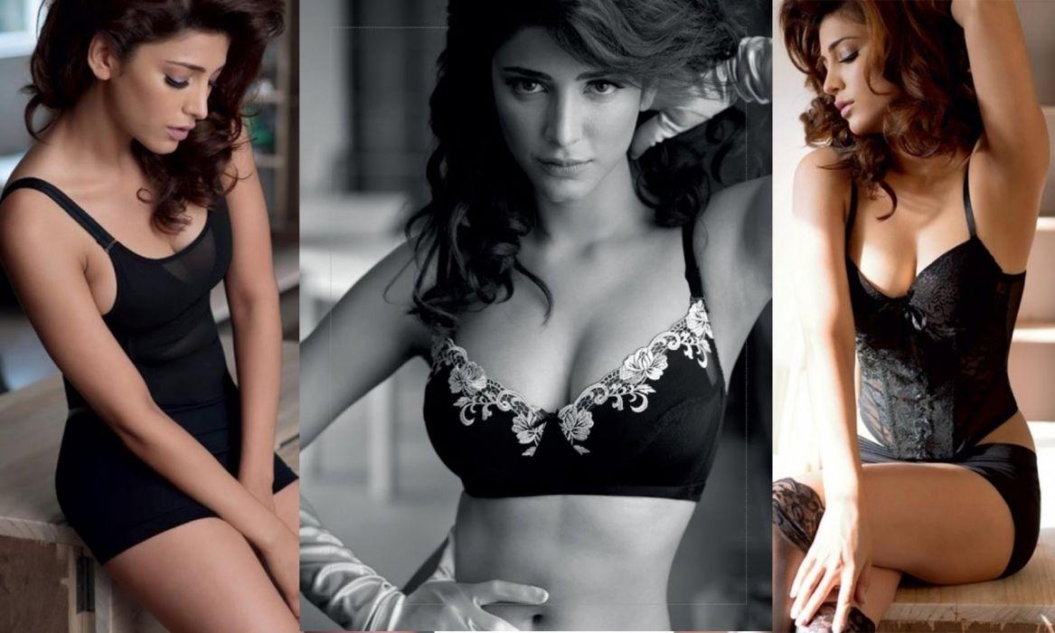 SHRUTI HASSAN indian actress bollywood singer model babe (13) wallpaper