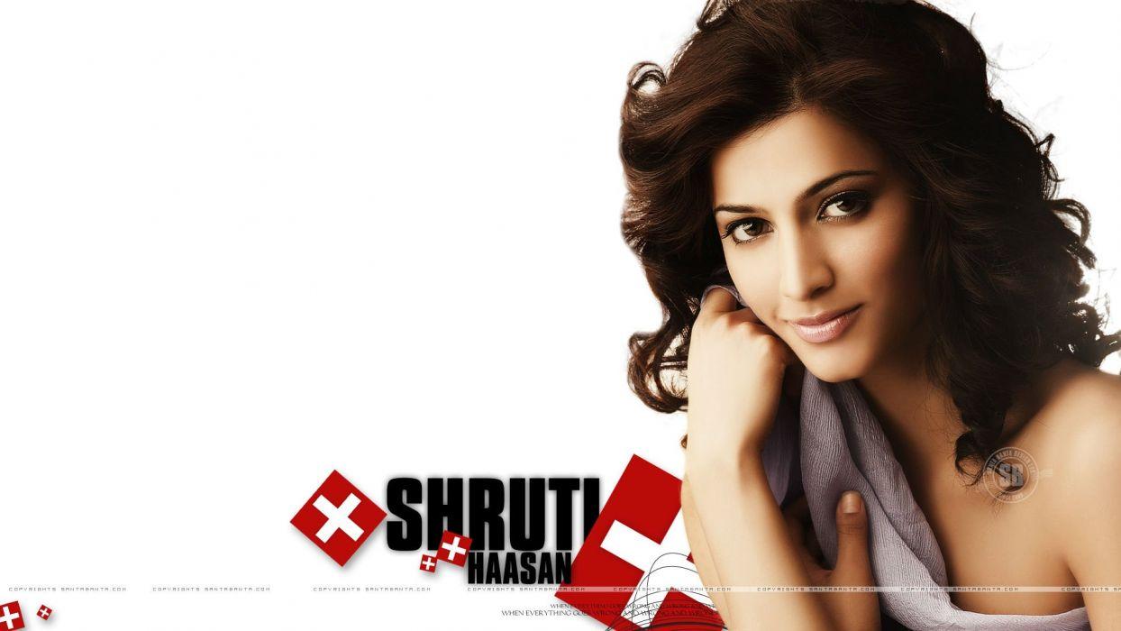SHRUTI HASSAN indian actress bollywood singer model babe (14) wallpaper