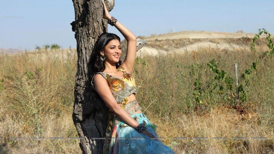SHRUTI HASSAN indian actress bollywood singer model babe (32) wallpaper