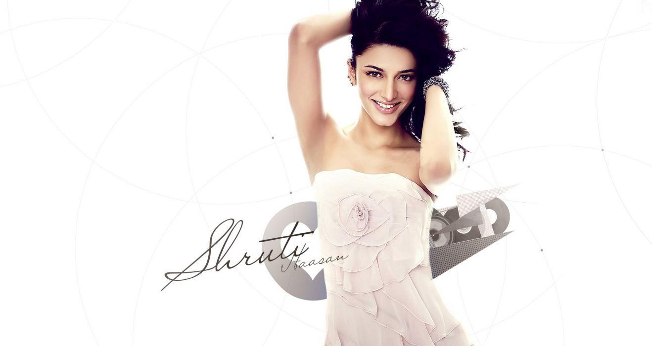 SHRUTI HASSAN indian actress bollywood singer model babe (25) wallpaper