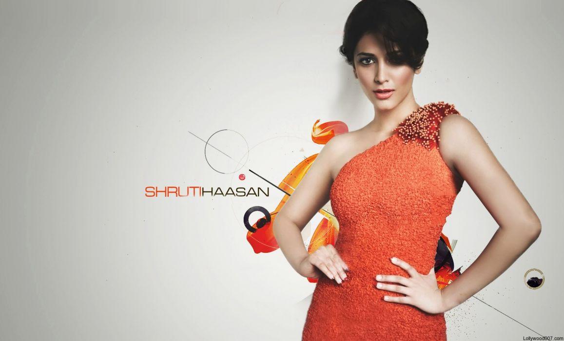 SHRUTI HASSAN indian actress bollywood singer model babe (40) wallpaper