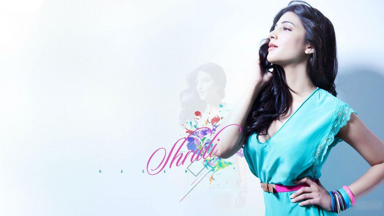 SHRUTI HASSAN indian actress bollywood singer model babe (42) wallpaper