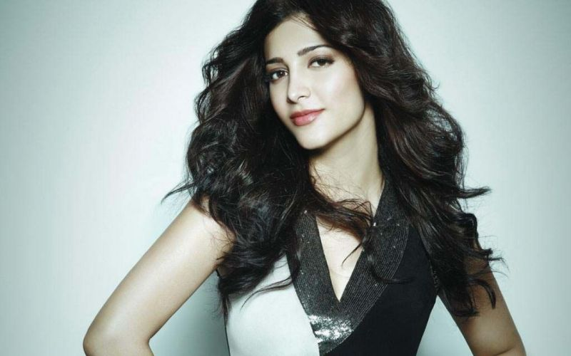SHRUTI HASSAN indian actress bollywood singer model babe (45) wallpaper
