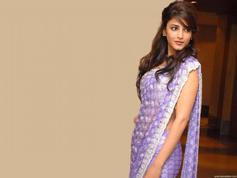 SHRUTI HASSAN indian actress bollywood singer model babe (47) wallpaper