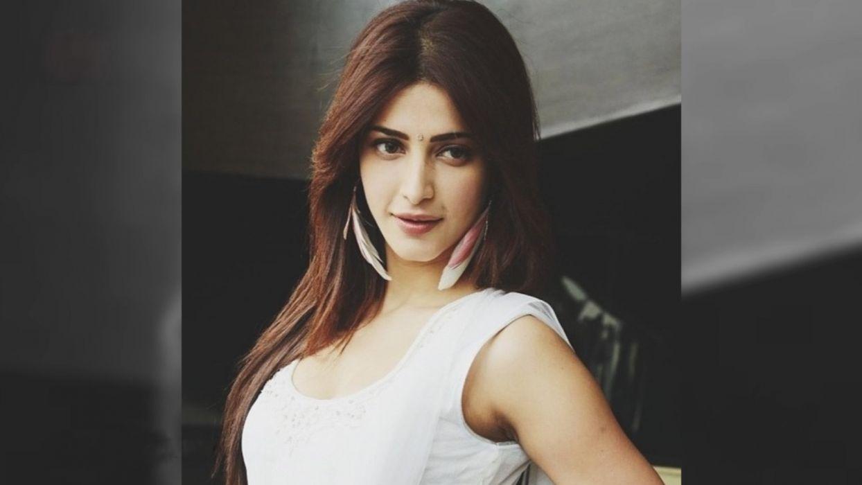 SHRUTI HASSAN indian actress bollywood singer model babe (73) wallpaper