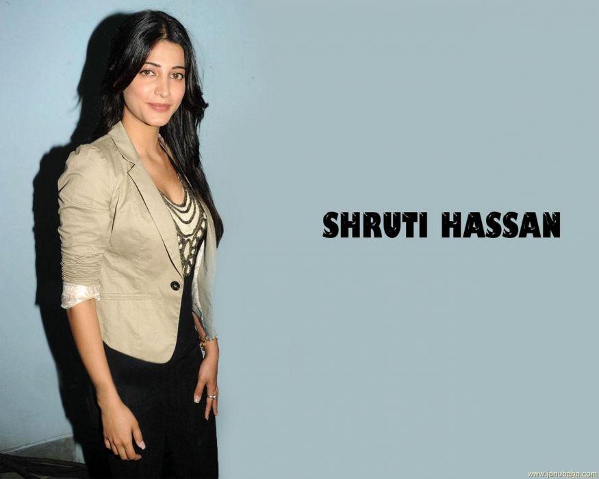 SHRUTI HASSAN indian actress bollywood singer model babe (90) wallpaper
