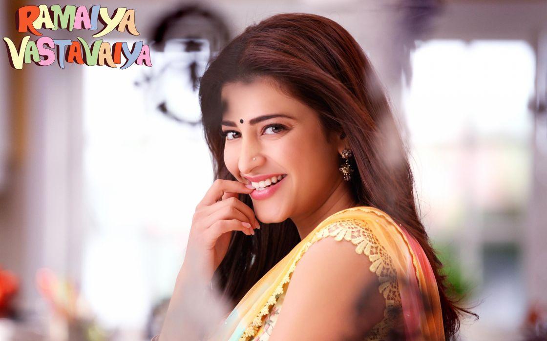 SHRUTI HASSAN indian actress bollywood singer model babe (86) wallpaper