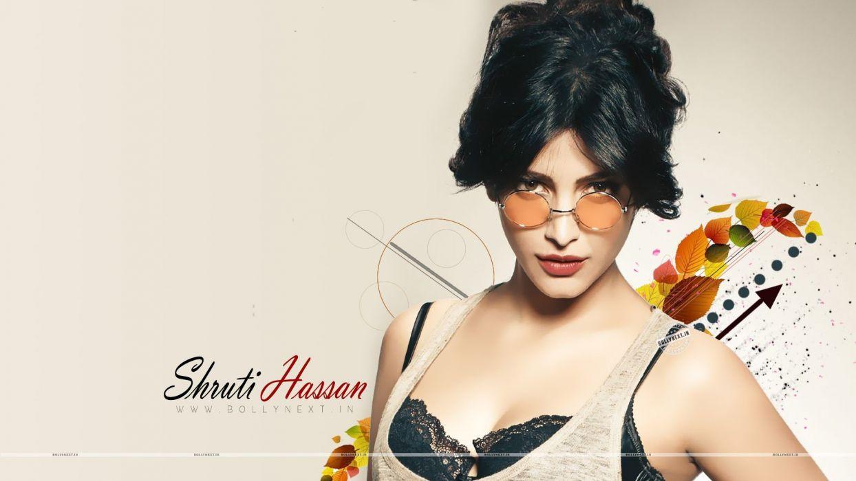 SHRUTI HASSAN indian actress bollywood singer model babe (100) wallpaper