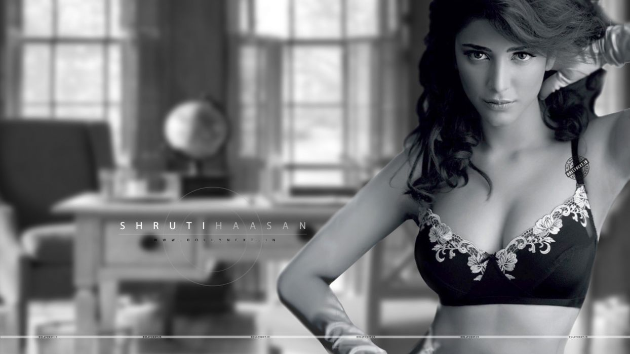 SHRUTI HASSAN indian actress bollywood singer model babe (98) wallpaper