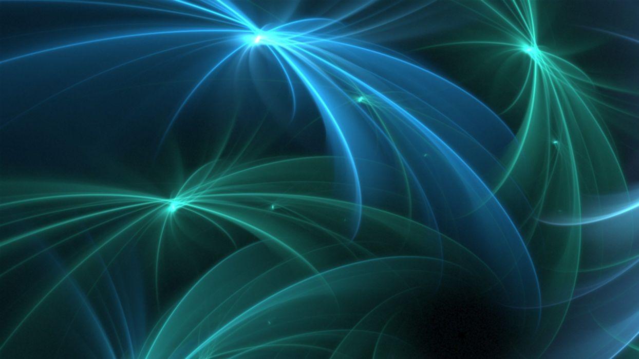 abstract blue stars neon wallpaper