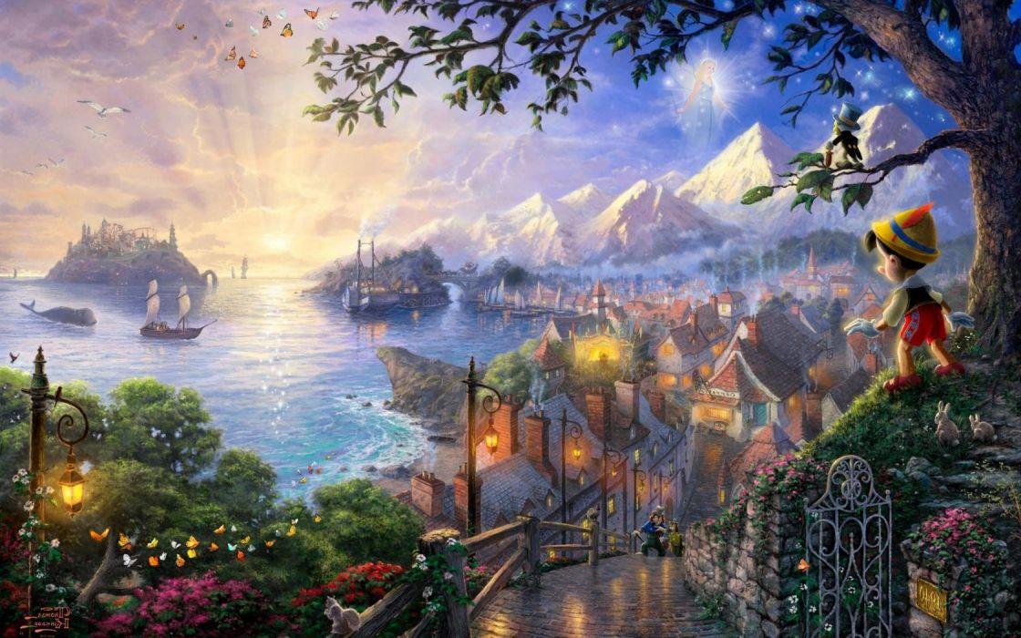 pinocchio Walt Disney wallpaper