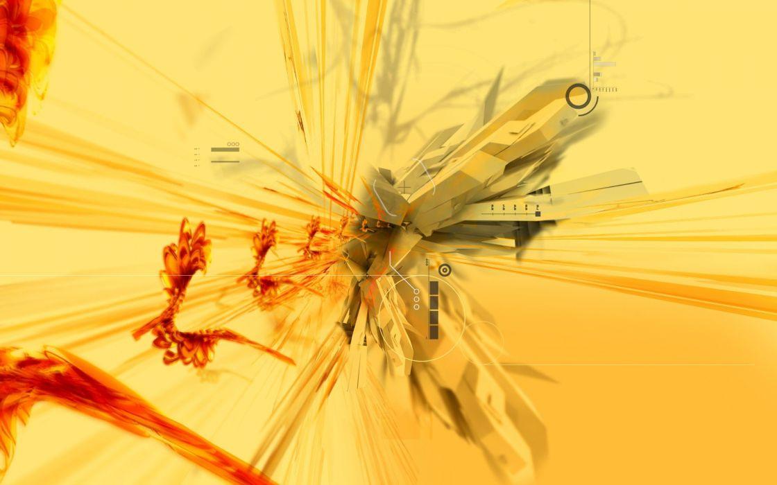 abstract wasp wallpaper