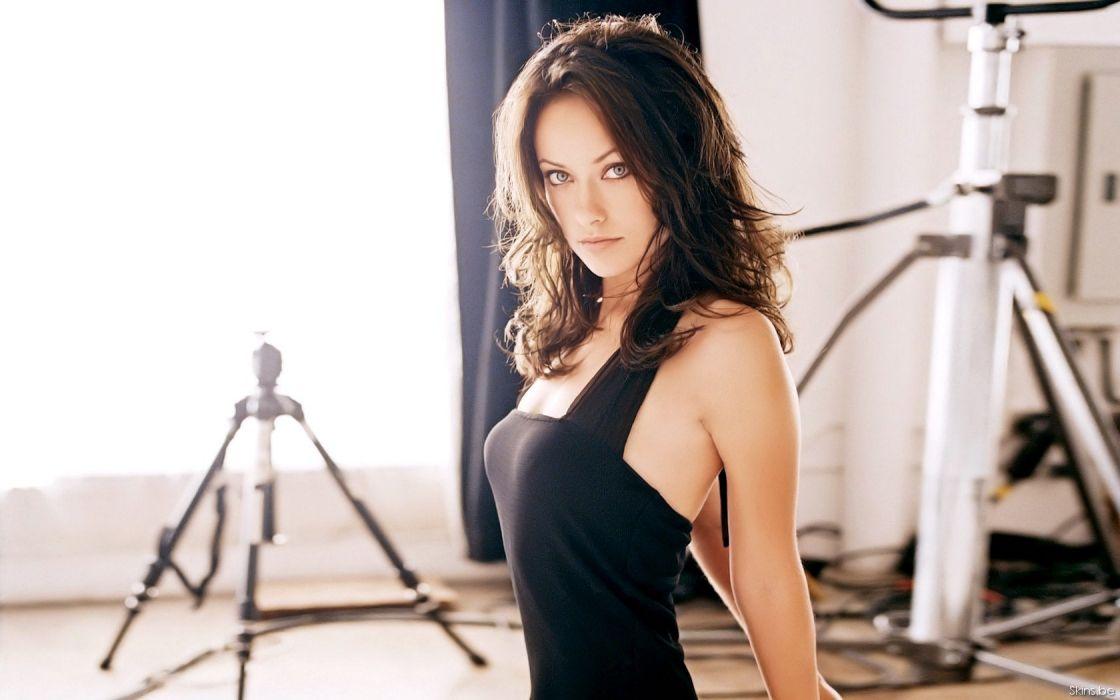 models Olivia Wilde wallpaper