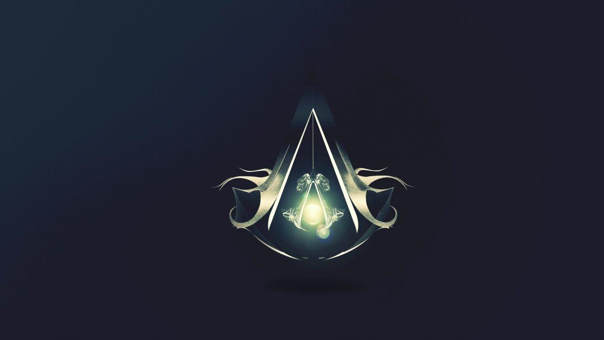 Assassins Creed logos wallpaper