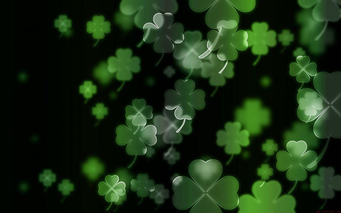 Luck irish four leaf clover Clovers
