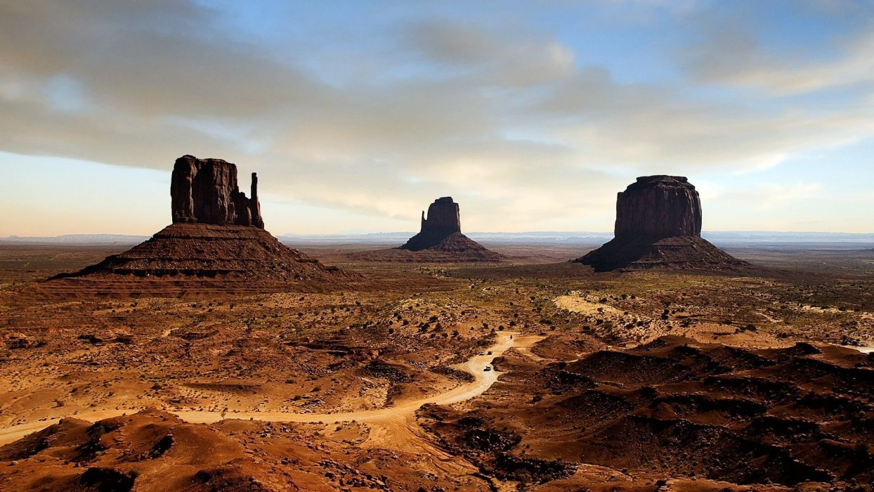 nature USA Arizona Death Valley Monument Valley rock formations wallpaper