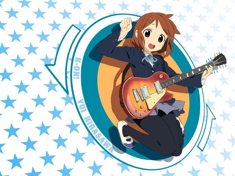 K-ON! Hirasawa Yui Miyatsuki Itsuka (Artist) wallpaper