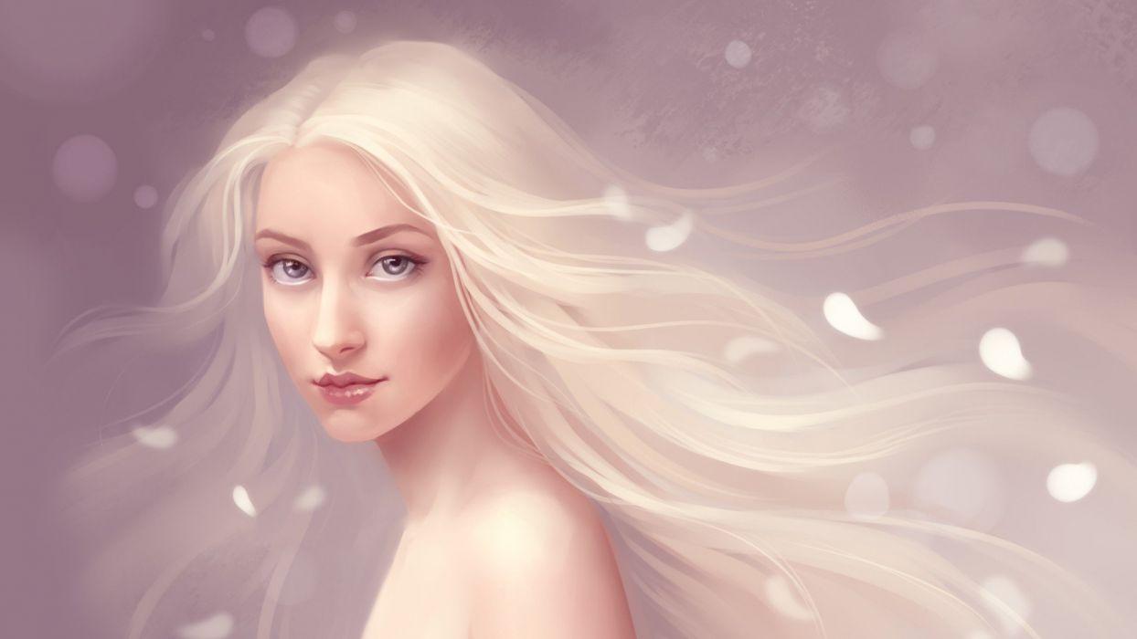 women fantasy art wallpaper