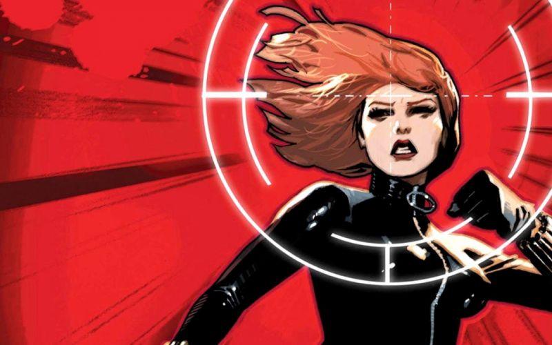 comics superheroes Black Widow artwork Marvel Comics comics girls wallpaper