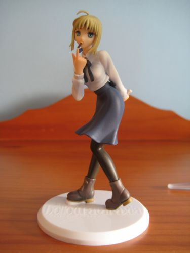 Fate/Stay Night Saber figurines anime girls Fate series wallpaper