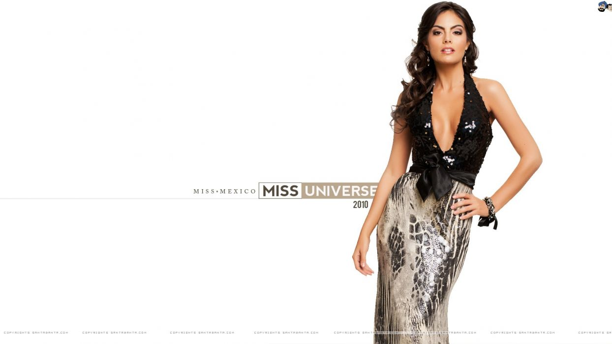 simple background miss universe miss Mexico wallpaper