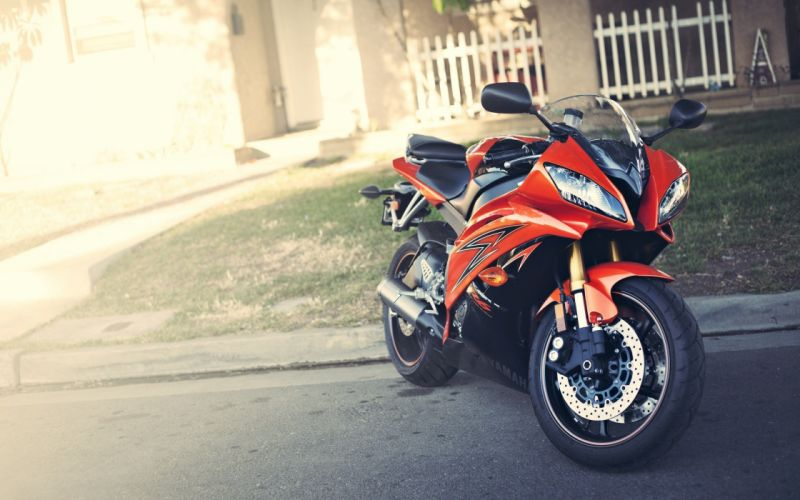 motorbikes Yamaha YZF-R6 wallpaper