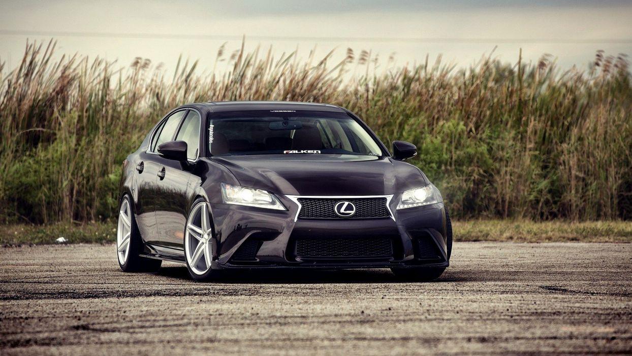 cars Lexus vehicles black cars Lexus IS automobile wallpaper