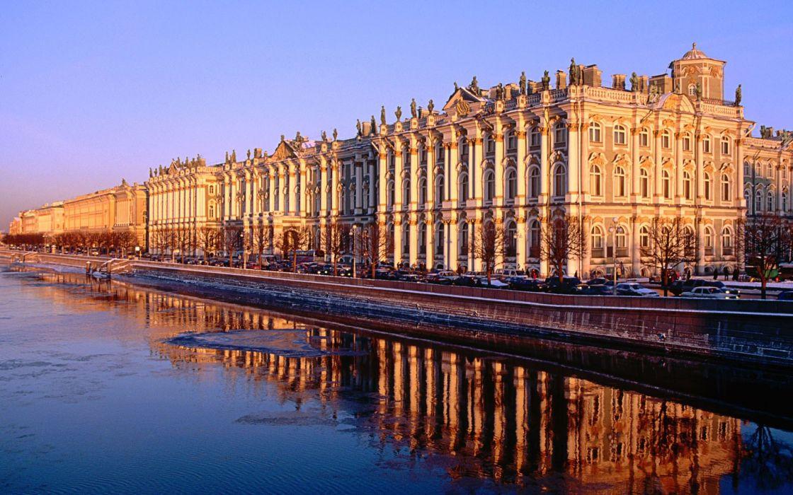 architecture Russia buildings Saint Petersburg wallpaper