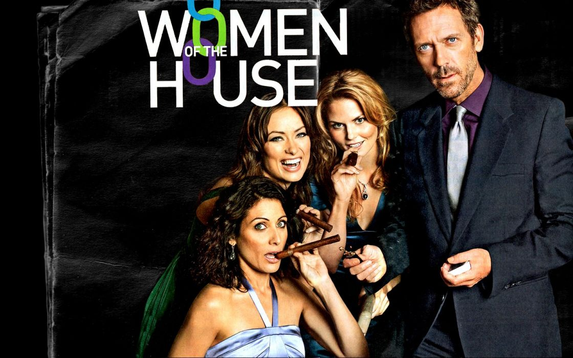 Olivia Wilde Jennifer Morrison Lisa Edelstein Thirteen Hugh Laurie Gregory House Cuddy House M_D_ wallpaper