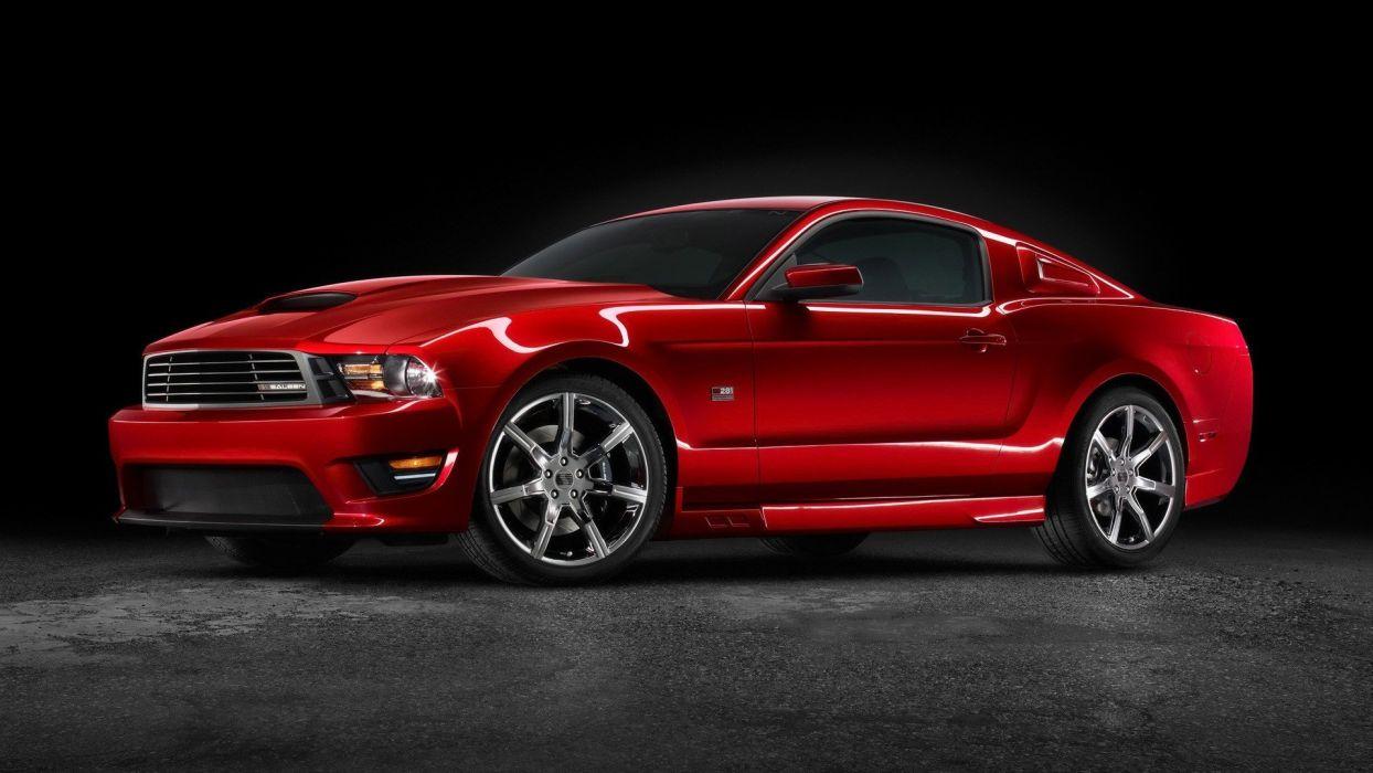 cars Saleen Ford Mustang wallpaper