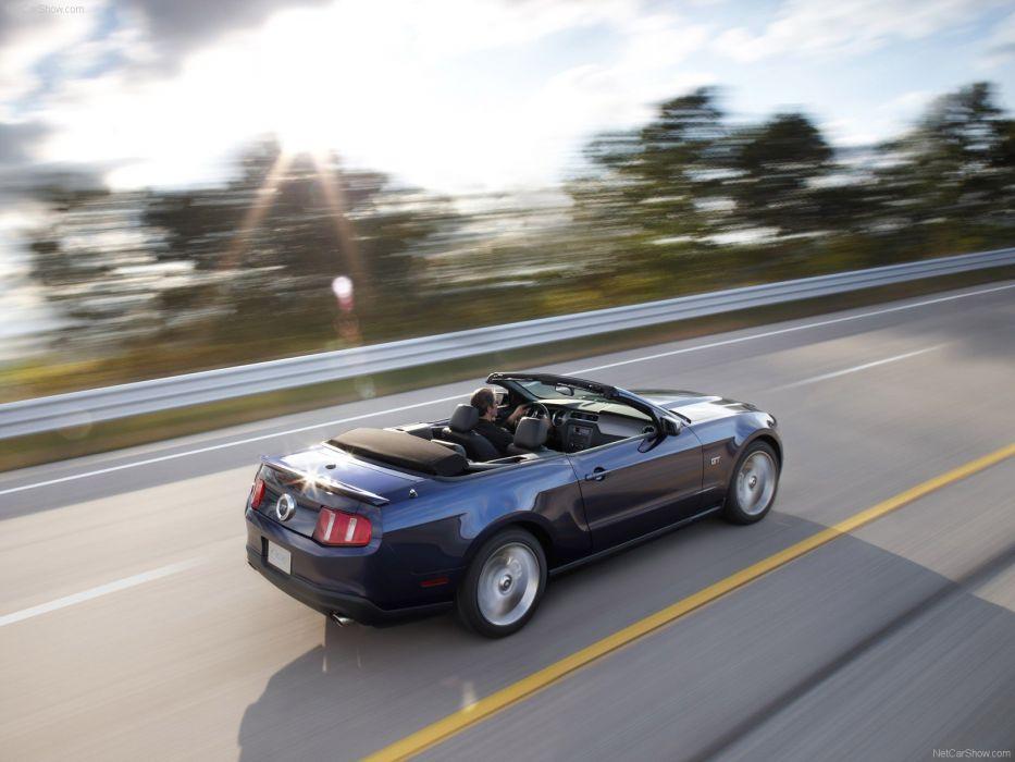cars vehicles Ford Mustang convertible wallpaper