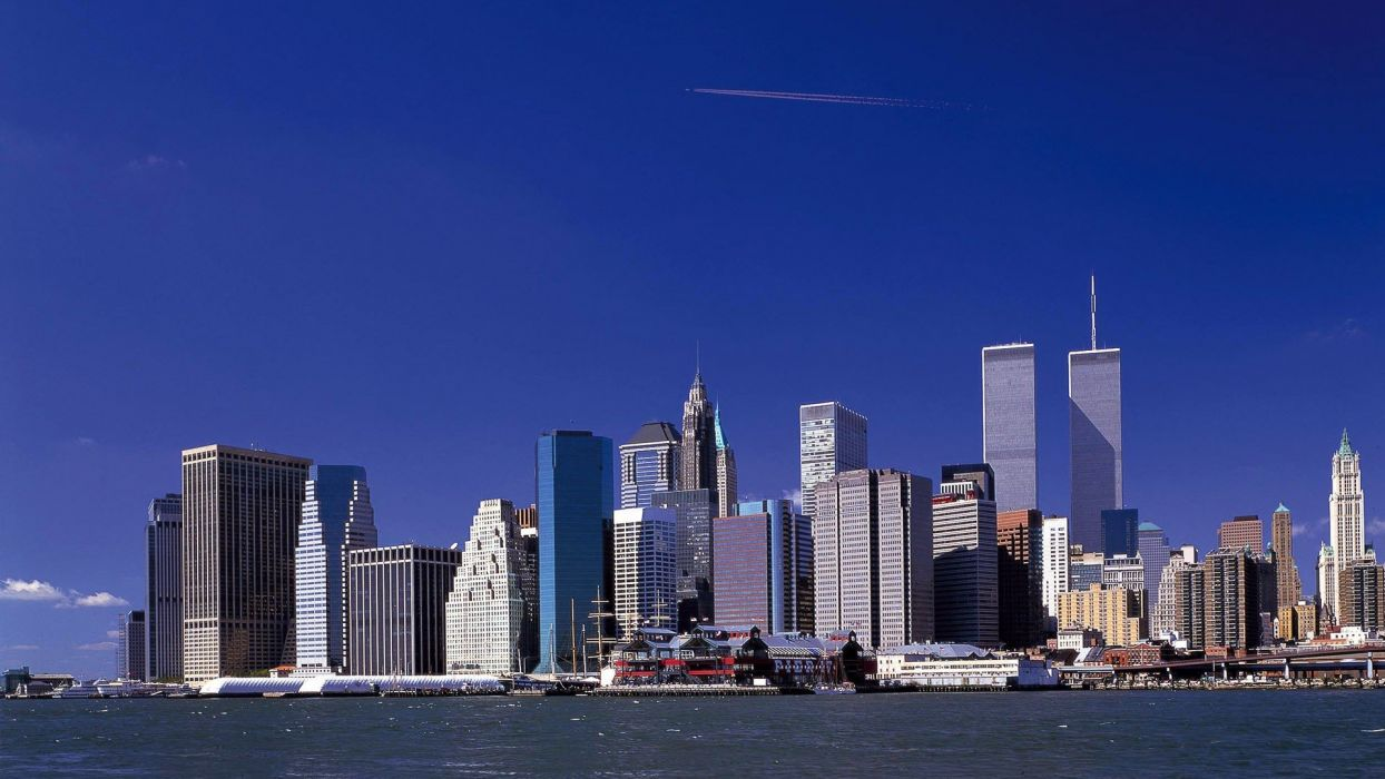 cityscapes USA New York City towns skyscrapers wallpaper