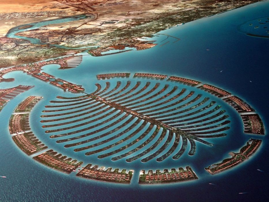 Dubai Palm Island wallpaper