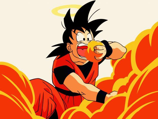Son Goku Dragon Ball Z eating wallpaper