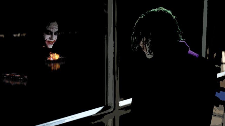 The Joker The Dark Knight wallpaper