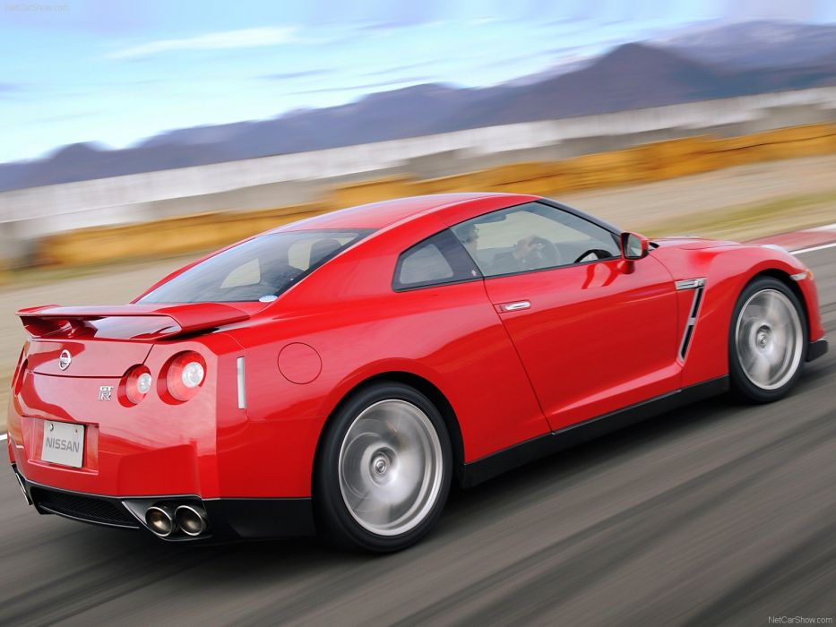 cars Nissan vehicles sports cars Nissan Skyline GT-R Nissan GT-R R35 wallpaper