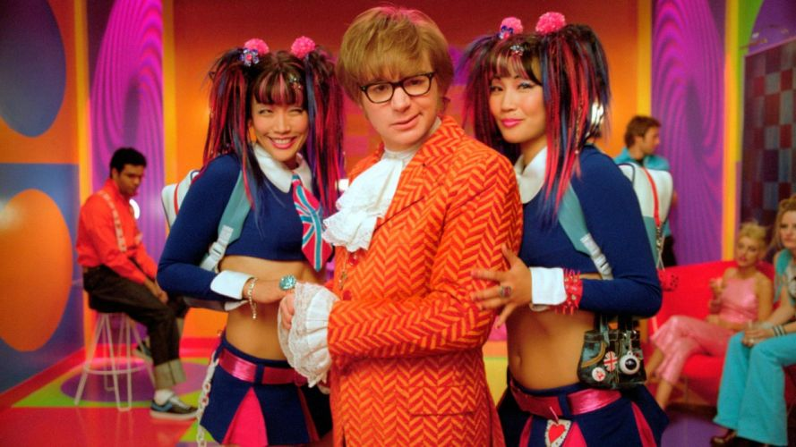 movies Austin Powers Mike Myers wallpaper