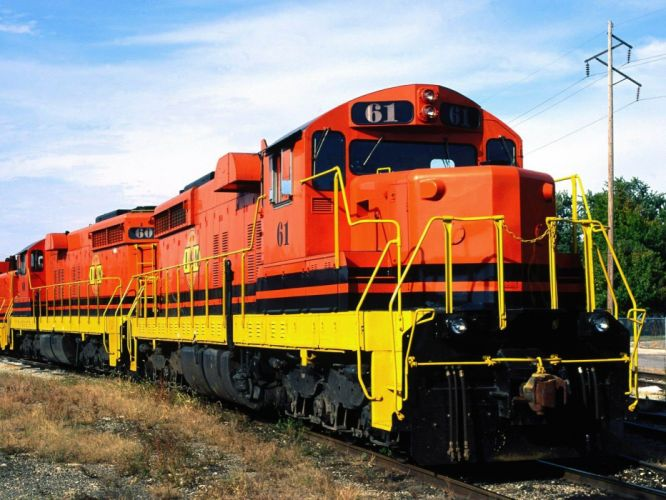 trains railroad tracks vehicles locomotives wallpaper