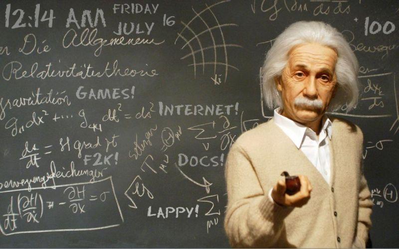 Internet physics Albert Einstein wallpaper