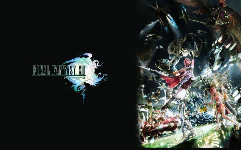 Final Fantasy Final Fantasy XIII lightning wallpaper