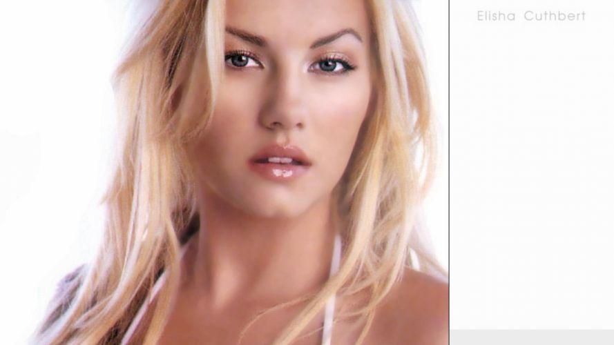 women Elisha Cuthbert actress models wallpaper
