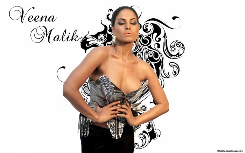 VEENA MALIK indian actress bollywood fashion model babe (17) wallpaper