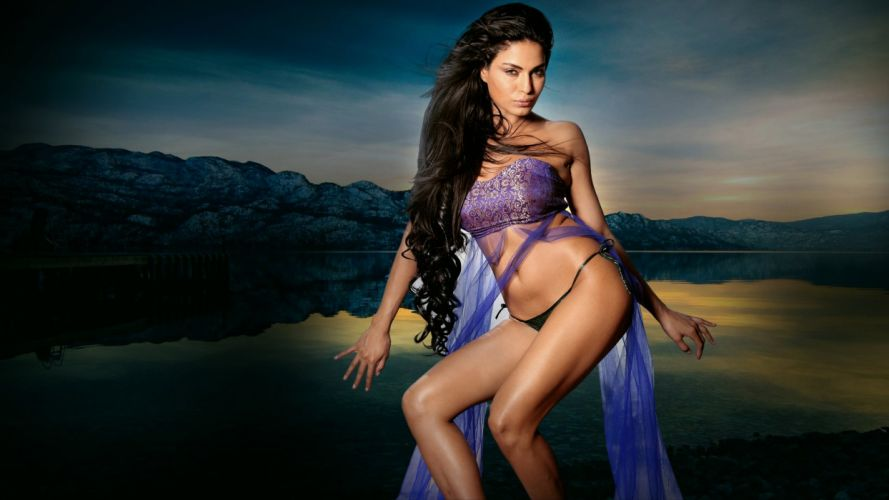 VEENA MALIK indian actress bollywood fashion model babe (14) wallpaper