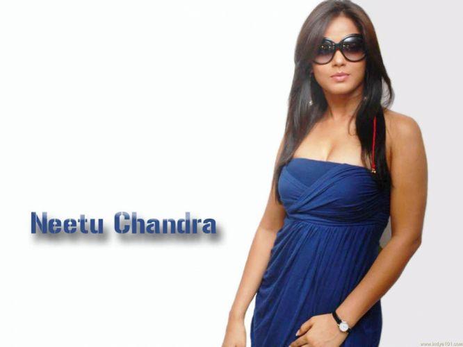 NEETU CHANDRA indian actress model martial arts model bollywood babe (13) wallpaper