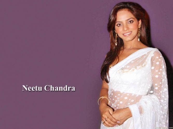 NEETU CHANDRA indian actress model martial arts model bollywood babe (14) wallpaper