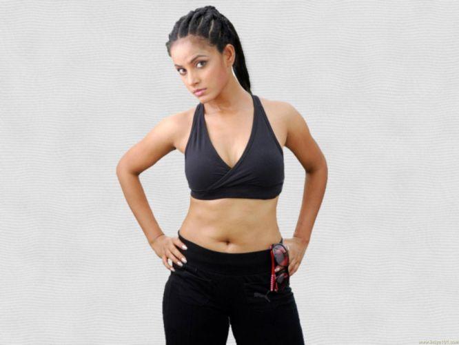 NEETU CHANDRA indian actress model martial arts model bollywood babe (17) wallpaper