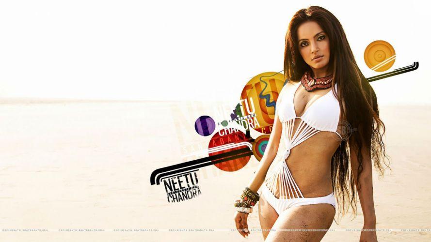 NEETU CHANDRA indian actress model martial arts model bollywood babe (26) wallpaper